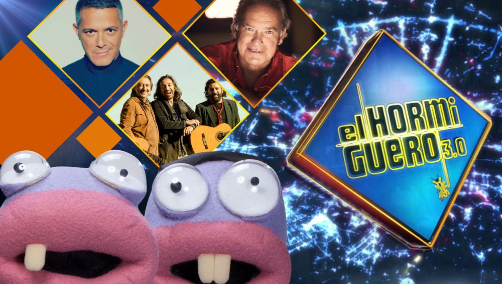 Esta semana, Alejandro Sanz, el trío KETAMA y Bertín Osborne se divertirán en 'El Hormiguero 3.0'