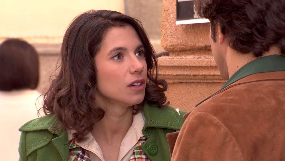 """Carolina se enfrenta a Álvaro: """"Me mientes, no confías en mí"""""""