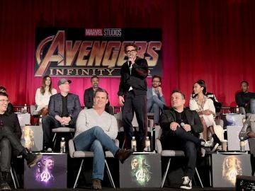 Los hermanos Russo y los actores de Marvel
