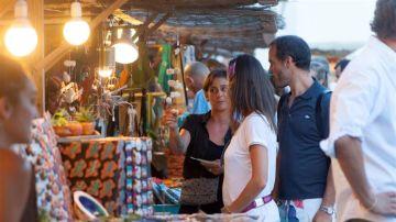 Mercadillo de artesanía en Mallorca