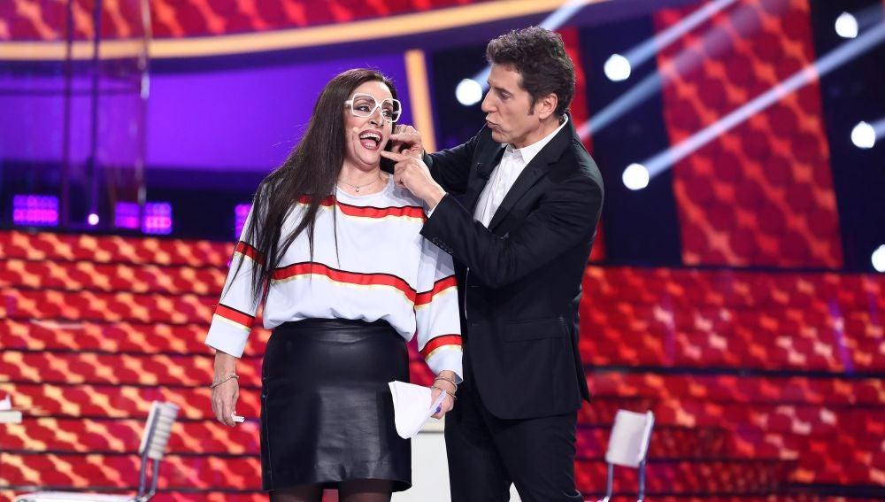 El truco infalible de Àngel Llàcer para conseguir silenciar a Anabel Alonso
