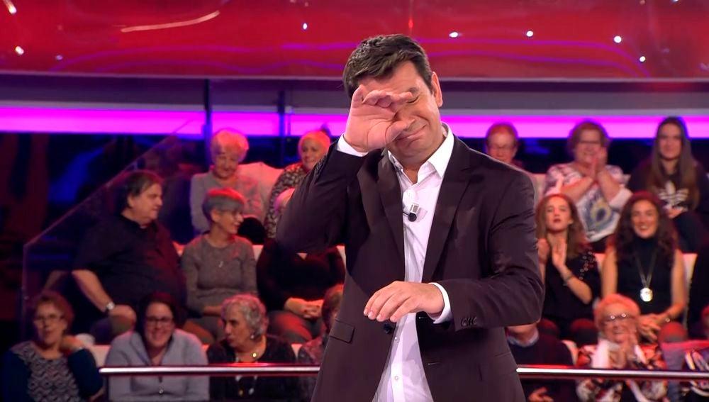 arturo Valls emocionado