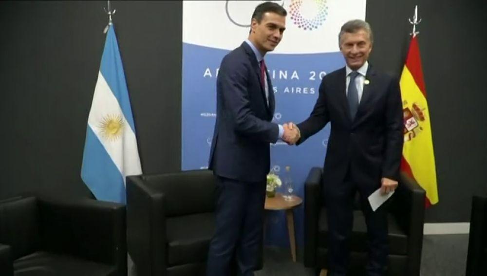 Macri está de acuerdo con el traslado de la final a Madrid