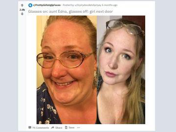 ¿Son estas chicas la misma persona?