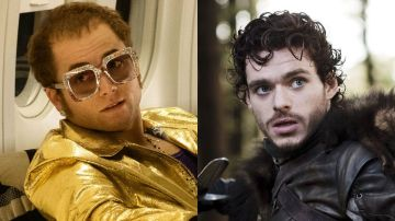 Taron Egerton como Elton John y Richard Madden