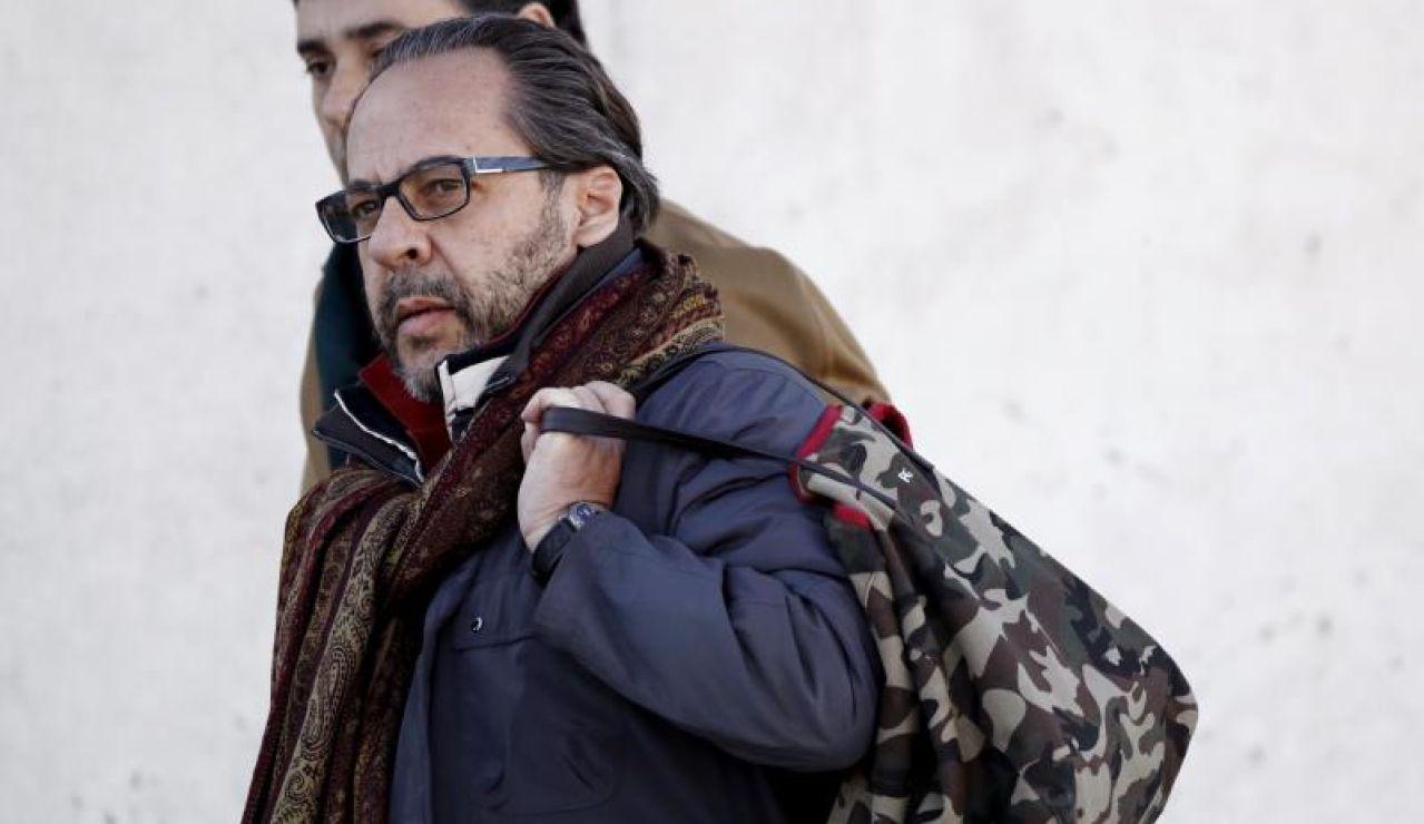 Álvaro Pérez 'El Bigotes', a su llegada a la Audiencia Nacional