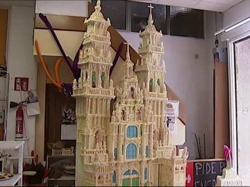 La Catedral de Santiago de Compostela en una presentación muy dulce
