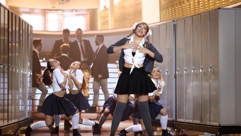 Actuación Mimi Britney Spears '...Baby one more time'