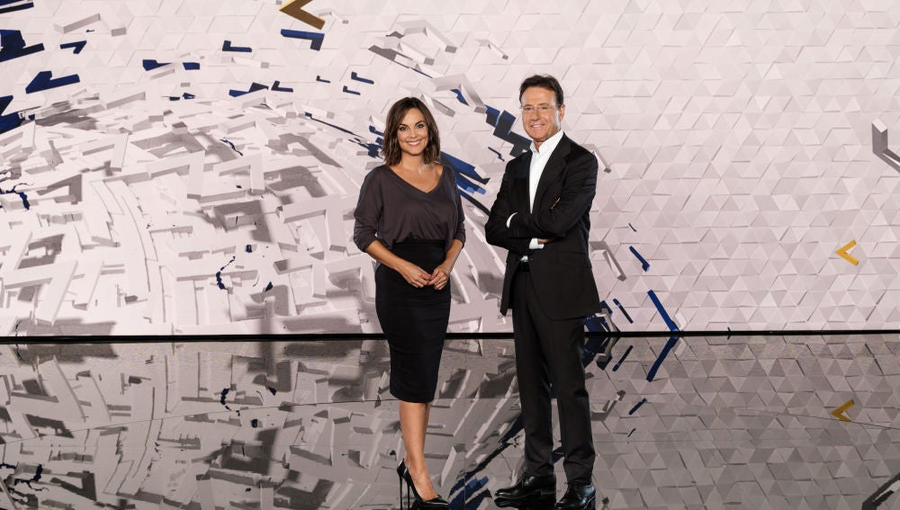 Matías Prats y Mónica Carrillo