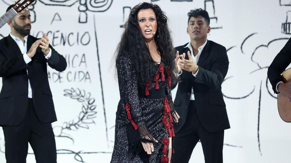 Actuación María Villalón Dolores Vargas