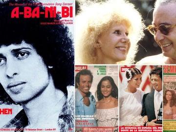 La Constitución Española cumple 40 años: las celebrities en 1978