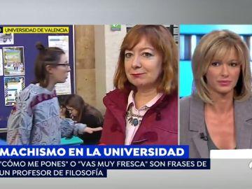Susanna Griso, en el plató de Espejo Público.