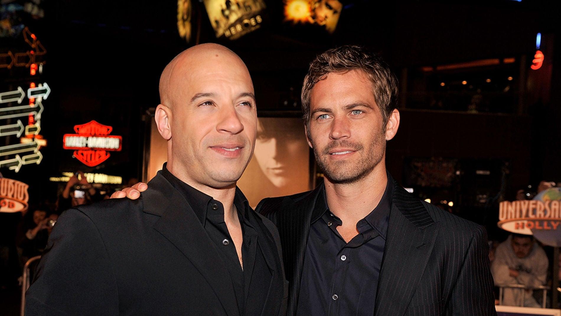 Vin Diesel junto a Paul Walker