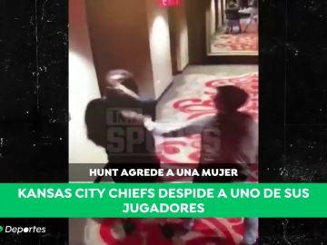 La indignante agresión machista de una estrella de la NFL: empujó y pateó a una mujer en un hotel en Cleveland