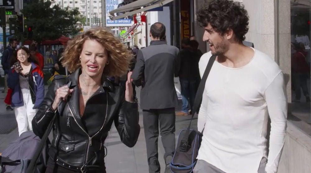 Paloma se despide de Rubén con un 'recado' para Lara