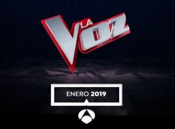 Enero 2019, estreno de 'La Voz'