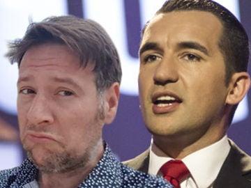 La indignación de Miguel Lago con Carlos Latre por su valoración a José Corbacho