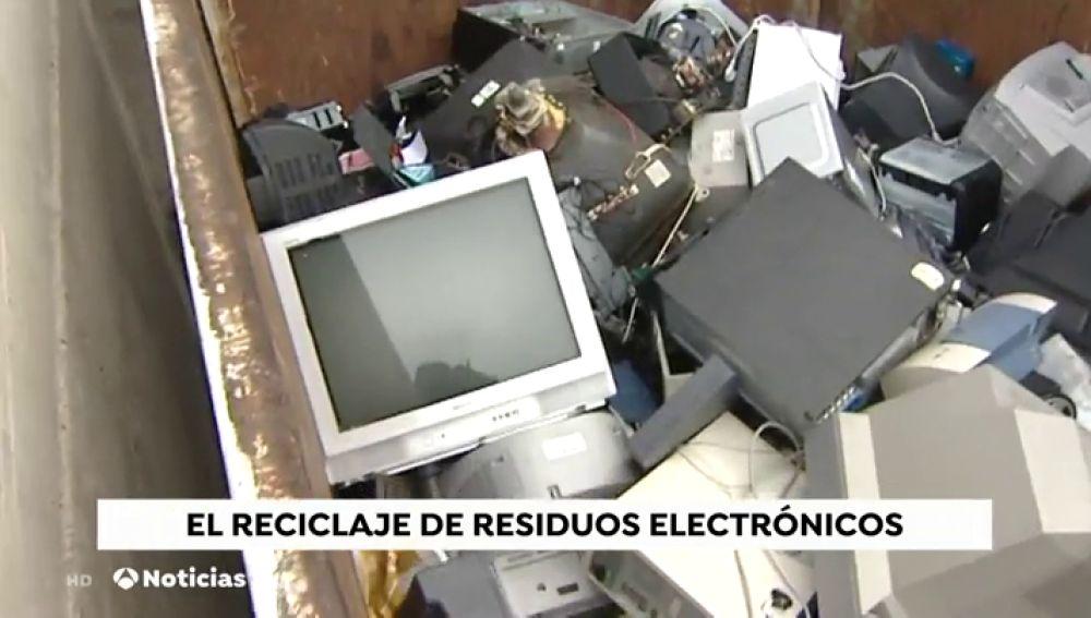 España recicló el año pasado 250.000 toneladas de electrodomésticos