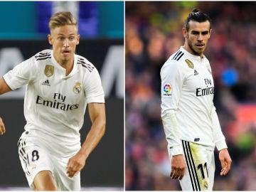 Marcos Llorente y Gareth Bale