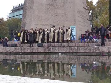 Coros y aficionados del Gospel se unen en Madrid para cantar 'Oh, Happy Day'