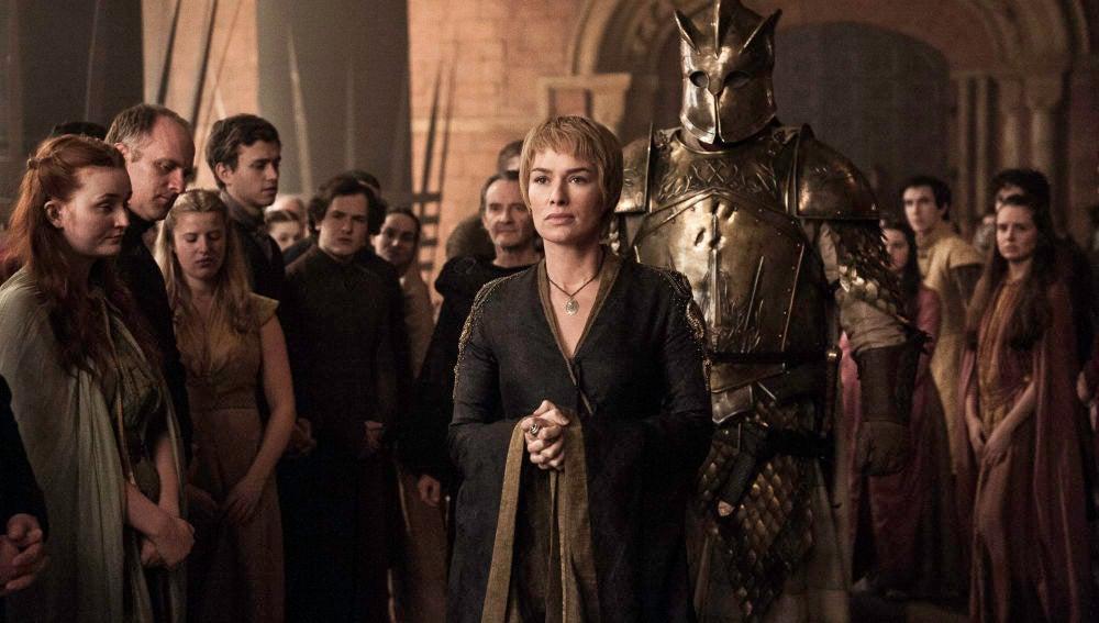 Cersei Lannister y La Montaña en 'Juego de Tronos'