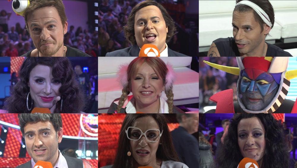 Los concursantes, con las emociones a flor de piel, confiesan cómo se han sentido encima del escenario
