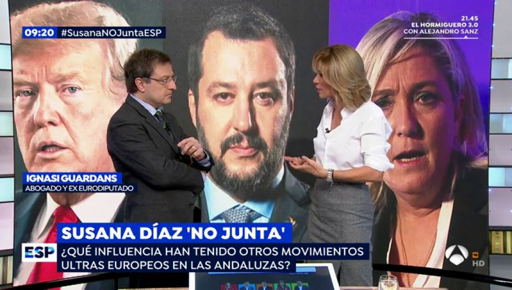 Vox, a la cabeza en las elecciones andaluzas.