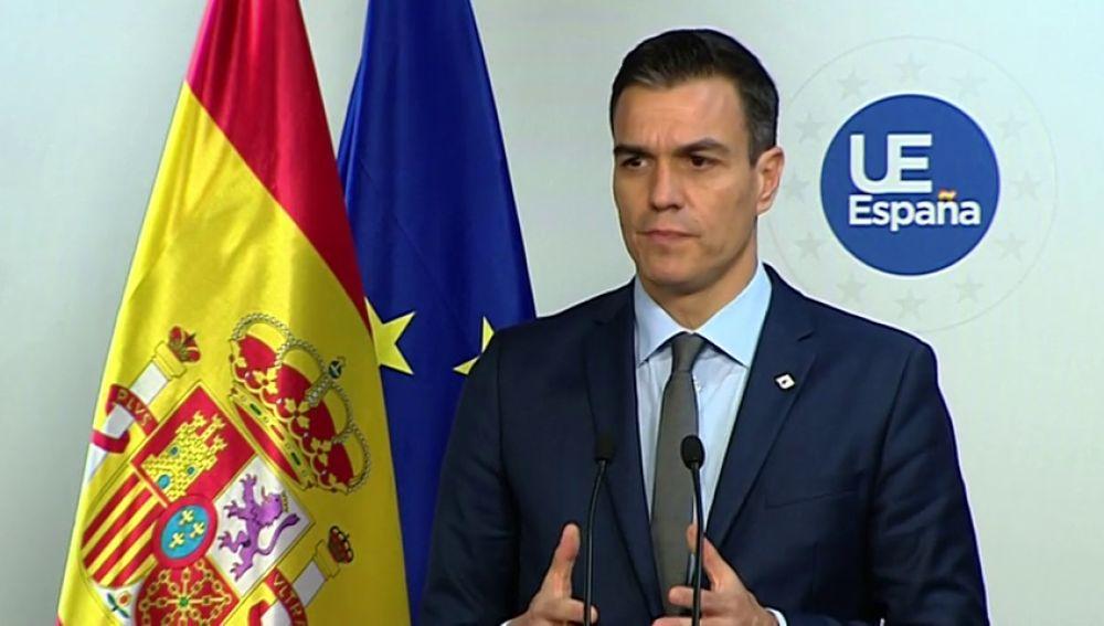 Pedro Sánchez insiste en su deseo de reunirse con Torra