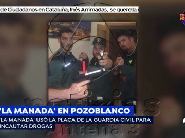 El guardia civil de La Manada usaba su placa para requisar drogas y alcohol que después consumía