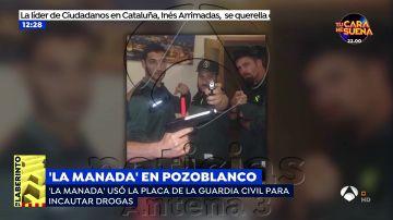 El guardia civil de La Manada usaba su placa para requisar drogas y alcohol que después consumía
