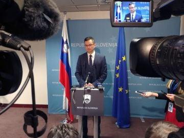 El primer ministro esloveno, Marjan Sarec