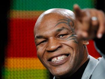 Mike Tyson, durante un acto