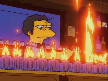 Flameado de Moe