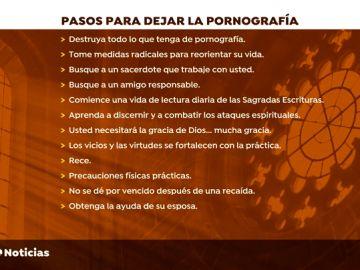 Los 12 mandamientos del obispo de Alcalá para dejar la adicción a la pornografía