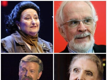 Algunos de los rostros de la cultura que nos han dicho adiós en 2018