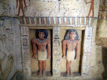 La tumba descubierta en Egipto
