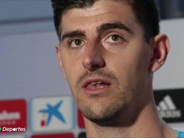 El zasca de Courtois a Simeone por sus palabras contra el Real Madrid