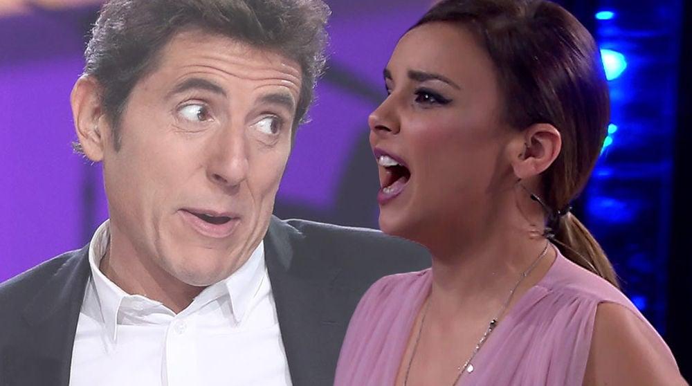 El 'disgusto' de Chenoa con la broma de Manel Fuentes en 'Tu cara me suena'
