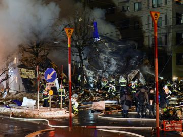 Explosión en un restaurante de Japón