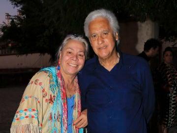 Chiquetete y Carmen Gahona