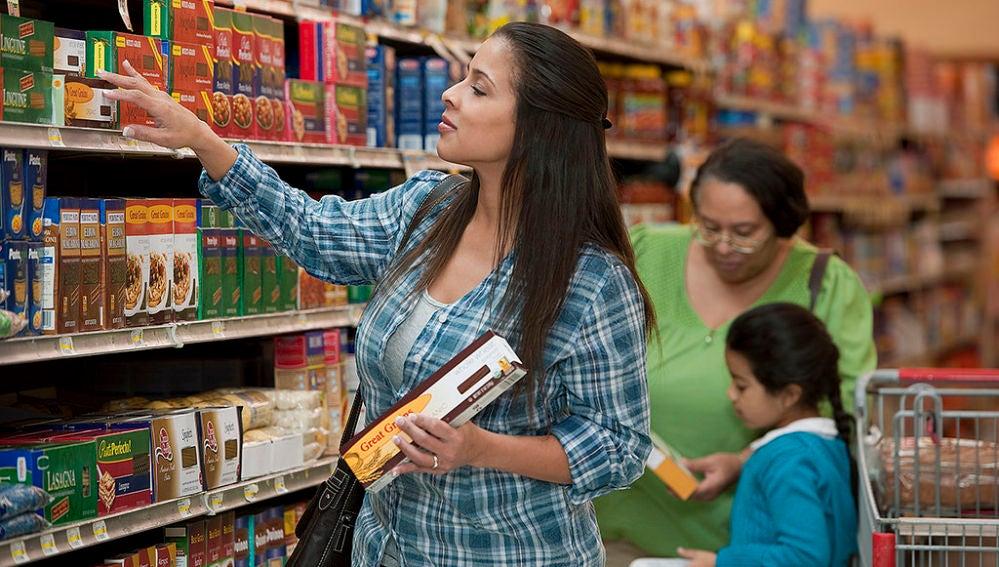 Ojo con las etiquetas de los productos en el supermercado.
