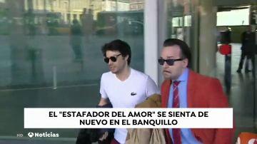 """El """"estafador del amor"""" de Barcelona de nuevo en el banquillo por otros dos casos"""