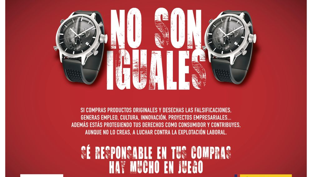 Cartel Falsificaciones