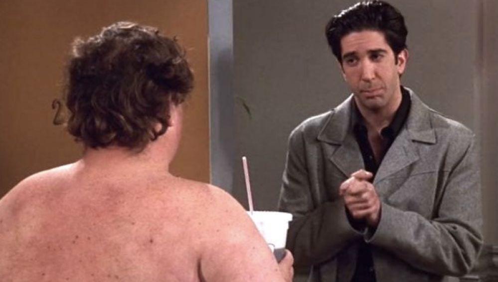 """Ross y el """"Tío Feo Desnudo"""""""