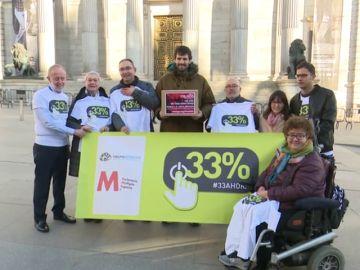 Más de 180.000 firmas recogidas piden que se reconozca el 33% de discapacidad para personas con esclerosis múltiple, ELA o alzheimer
