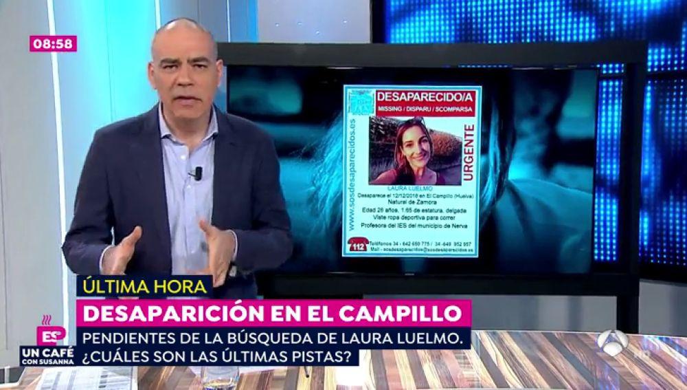 La joven desaparecida, Laura Luelmo, comunicó a su novio que tenía miedo de un vecino que la observaba horas antes de desaparecer