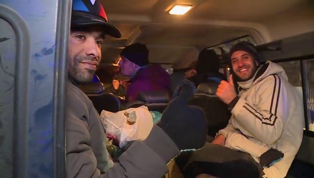 Inmigrantes recatados en Bosnia
