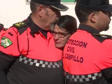 Así han reaccionado los agentes tras descubrir que el cadáver hallado era de Laura