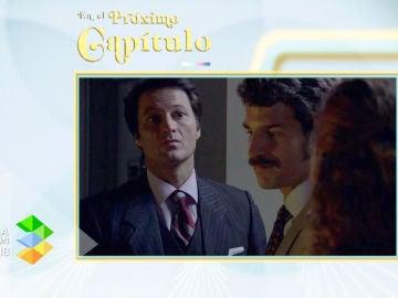 Gabriel pilla a Natalia y Carlos en la oscuridad