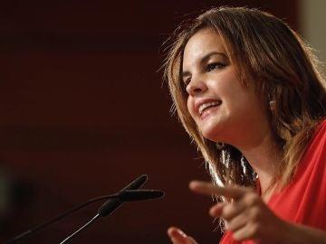 La primera teniente de alcalde del Ayuntamiento de Valencia, Sandra Gómez